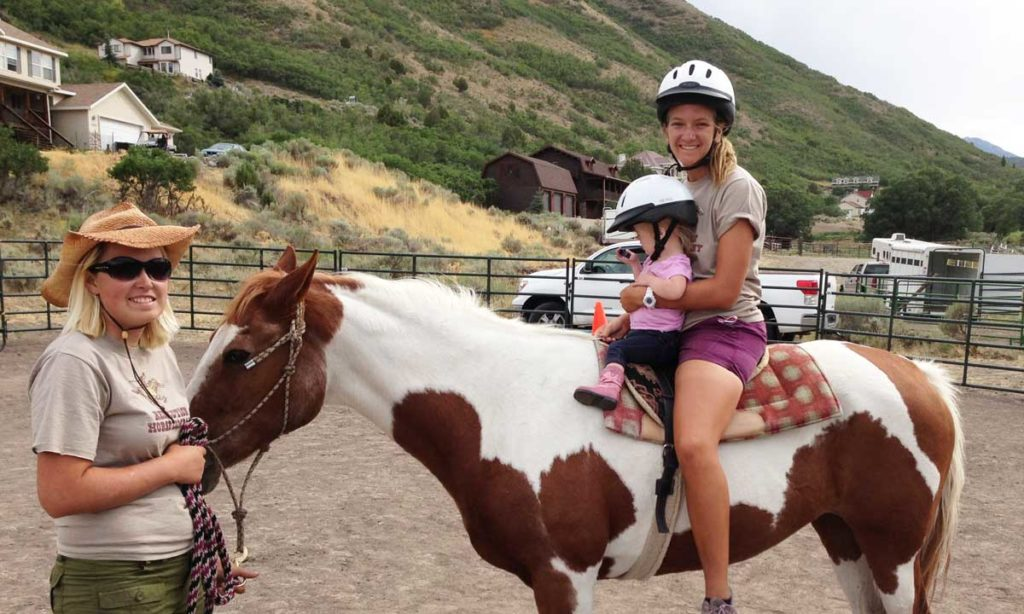 Bre-and-Allie-with-little-rider