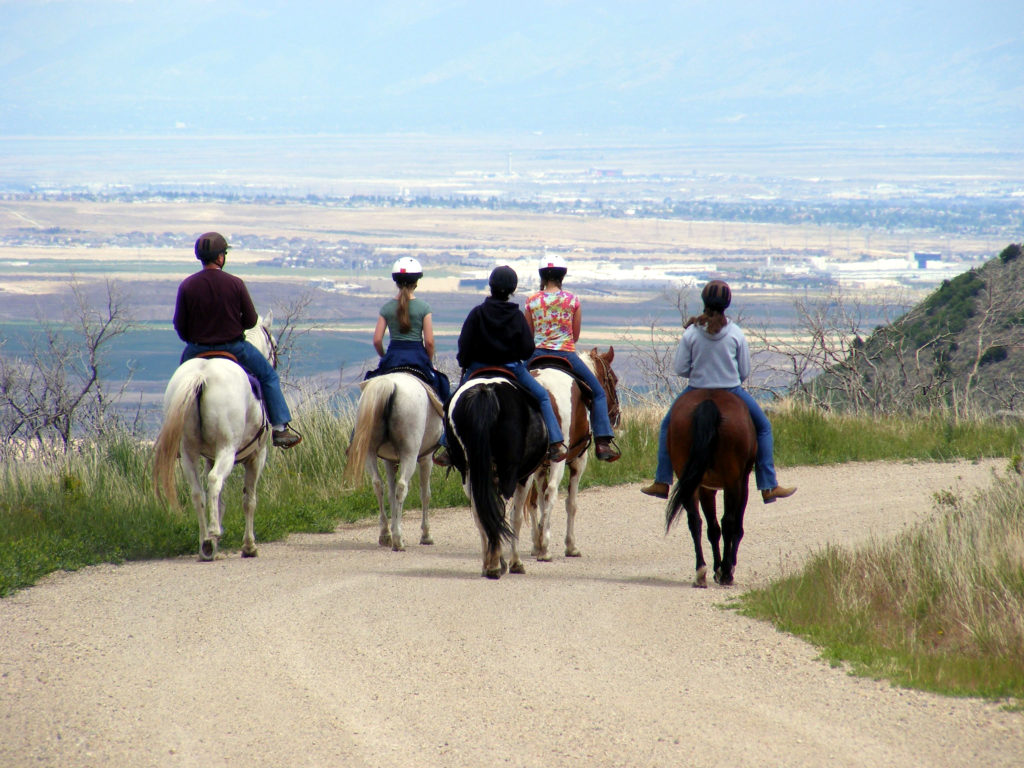Riders on South Mountain